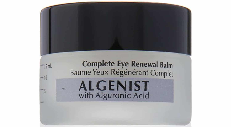mejor crema hidratante masculina complete eye balm algenist
