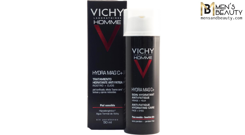 mejor crema hidratante hombre hydra mag c vichy homme