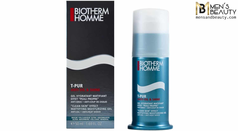 mejor crema hidratante hombre t pur biotherm homme