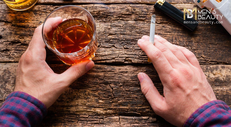 como ser guapo cuidado tabaco alcohol