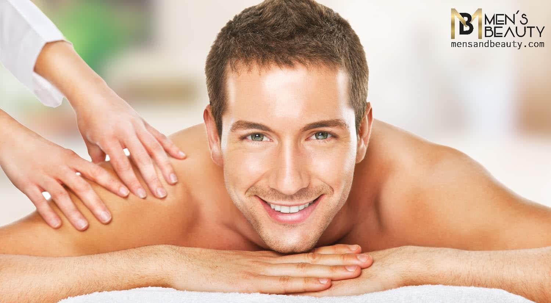 tipos de masajes para hombre