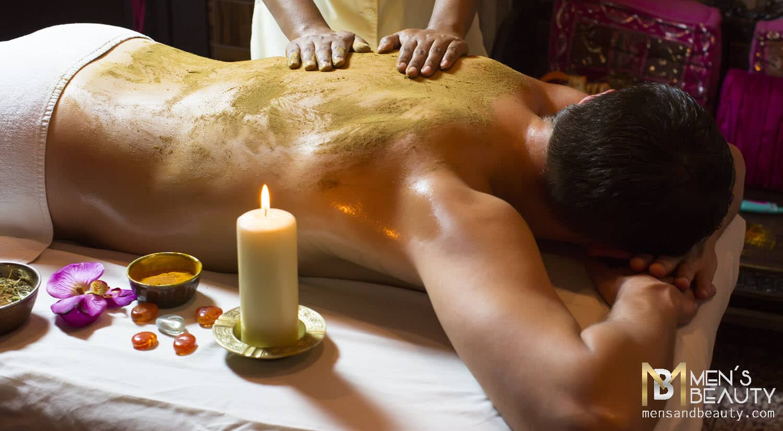 tipos de masajes para hombre aromaterapia