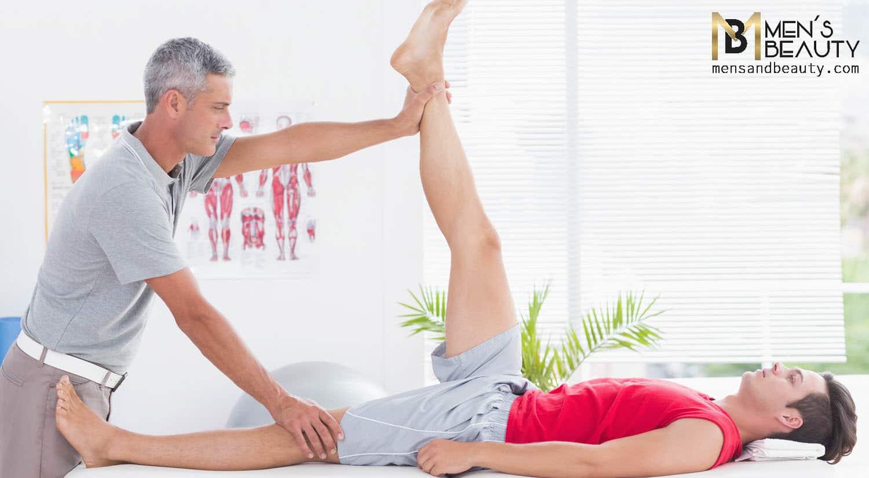 tipos de masajes para hombre deportivo