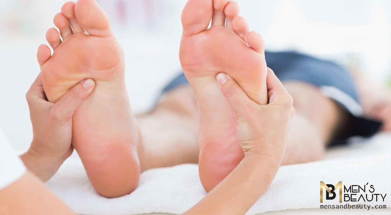 tipos de masajes para hombre reflexologia podal