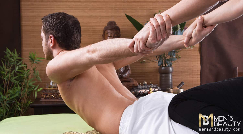 tipos de masajes para hombre shiatsu
