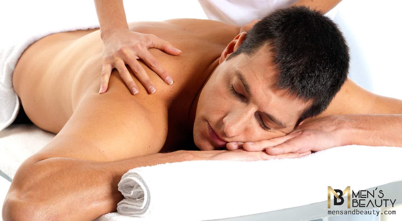 tipos de masajes para hombre terapia puntos