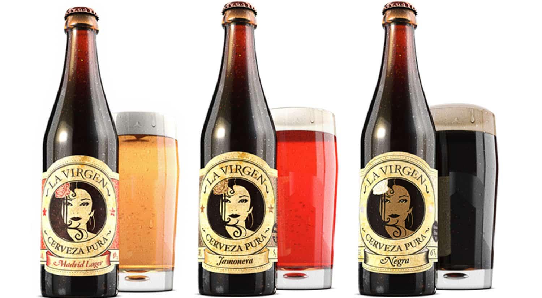 mejores marcas cervezas españa cervezaslavirgen madrid lager