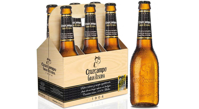 mejores marcas cervezas españa cruzcampo gran reserva 1904