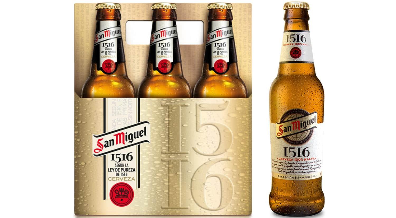 mejores marcas cervezas españa sanmiguel 1516