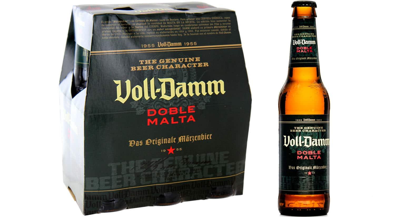 mejores marcas cervezas españa voll damm doble malta
