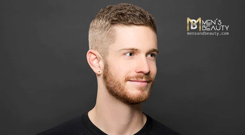 peinados hombre poco pelo crew cut