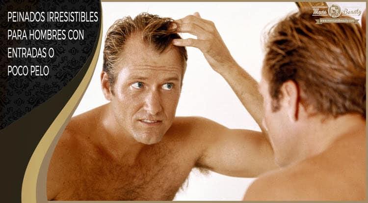 peinados hombre poco pelo