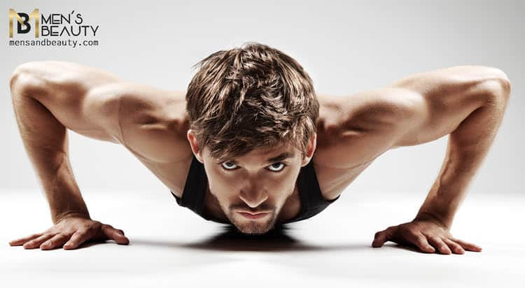 rutina de entrenamiento para hombres en casa exterior