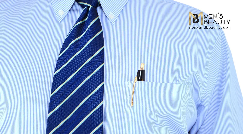 errores hombres vistiendo camisa bolsillo