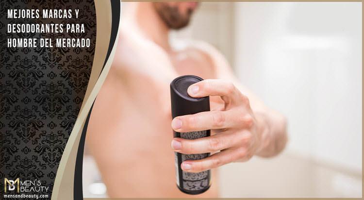 mejores marcas desodorantes masculinos