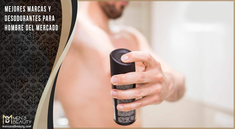 mejores marcas desodorantes para hombre