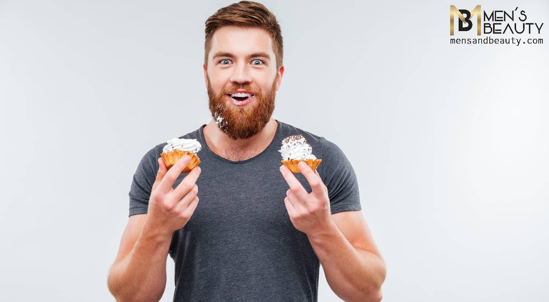 consejos no dejarte barba mancha comida