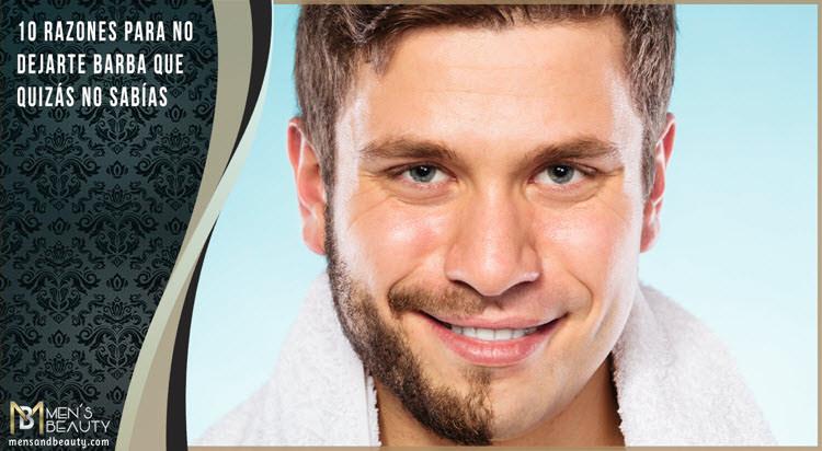 consejos no dejarte barba