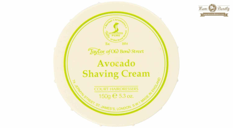 mejor gel espuma crema de afeitar hombre avocado shaving cream taylor of old bond street
