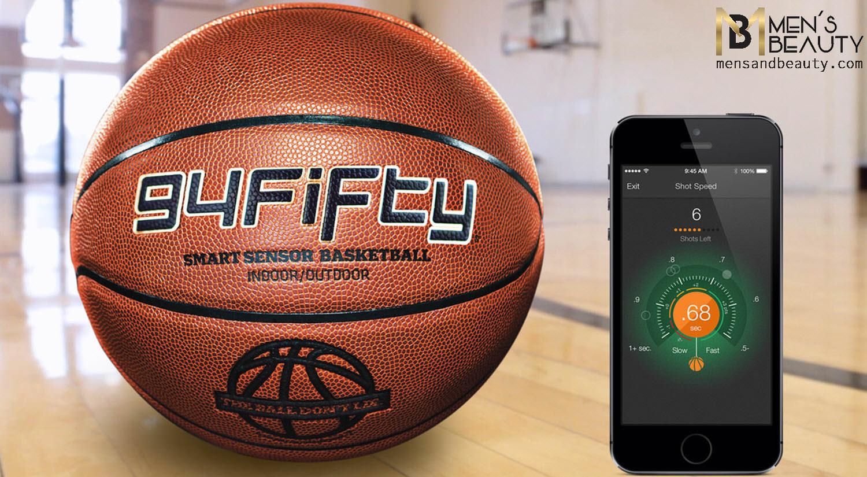 mejores regalos gadgets para hombres deporte 94fifty smart sensor basketball