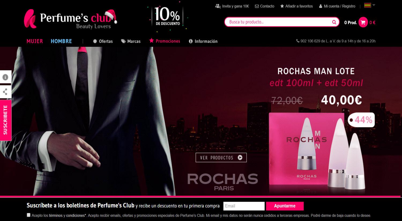 mejores tiendas online para comprar productos para hombres perfumesclub