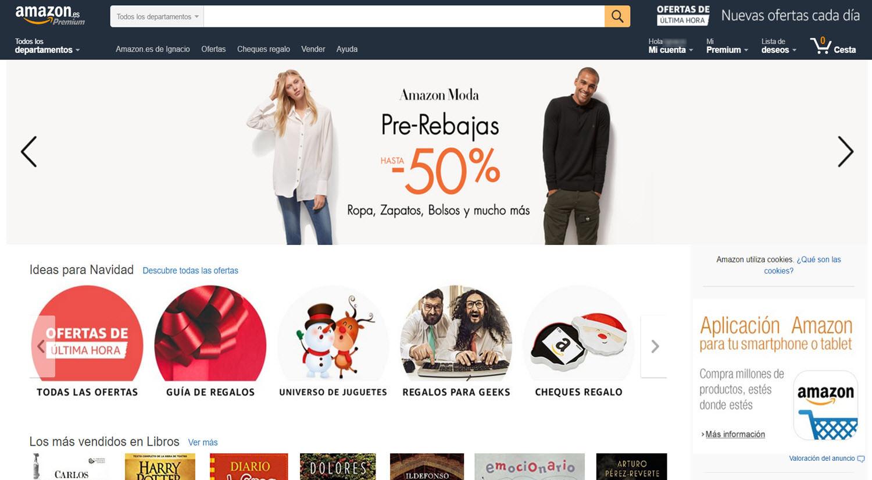 mejores tiendas para comprar online hombres amazon