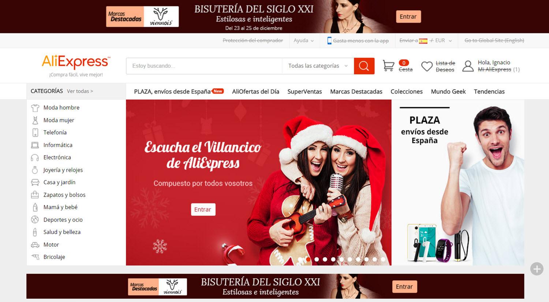 mejores tiendas para comprar online productos para hombres aliexpress