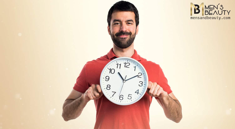 razones tener barba ahorrar tiempo