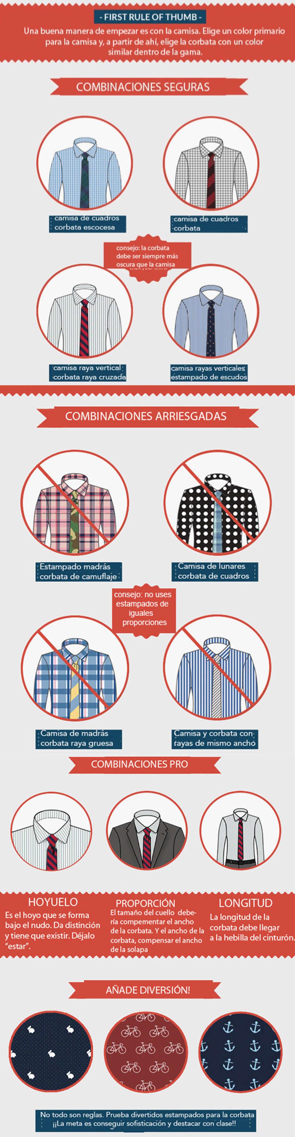 guia estilo hombre visual como conjuntar camisa chaqueta corbata
