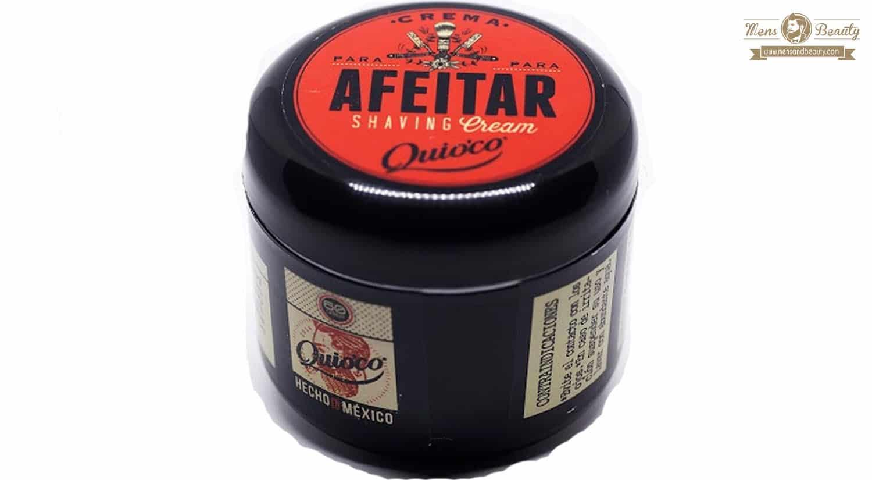 mejor gel espuma crema de afeitar hombre crema natural afeitar quioco