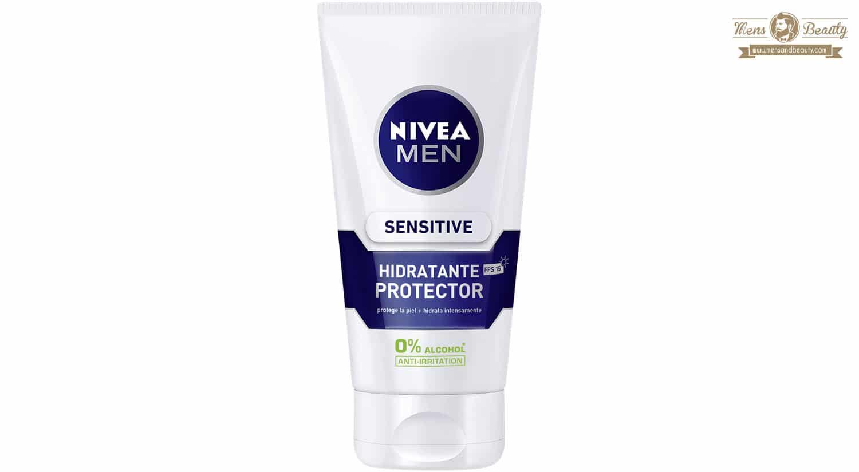 mejor gel espuma crema de afeitar hombre crema sensitive hidratante protector nivea men