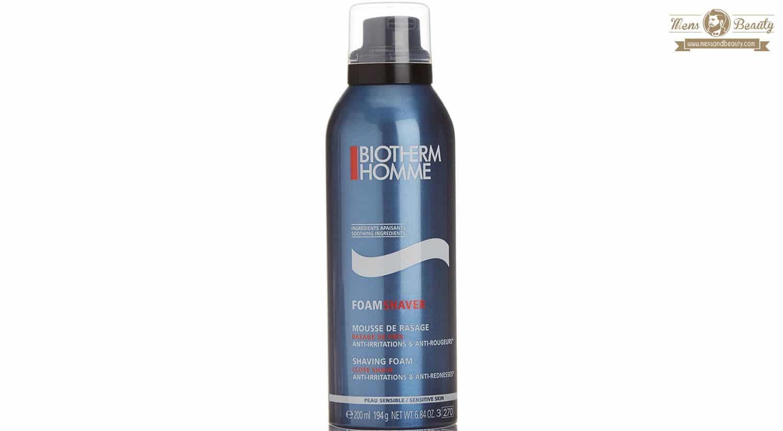 mejor gel espuma crema de afeitar hombre espuma de afeitar biotherm homme