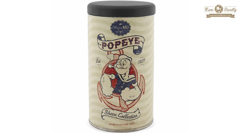 mejor gel espuma crema de afeitar hombre popeye razor md shave collection
