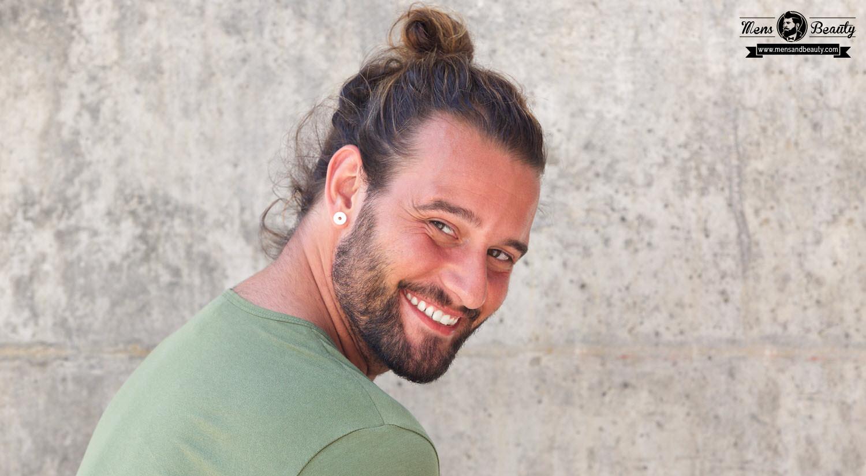 mejores cortes de pelo hombres peinados hombre pelo largo man bun