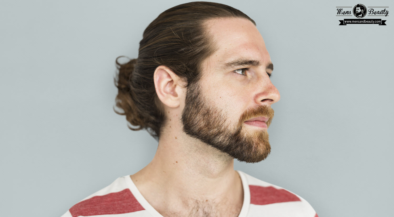 mejores cortes de pelo hombres peinados hombre pelo largo recogido