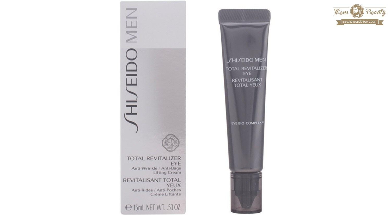 mejores cremas contorno ojos hombre shiseido