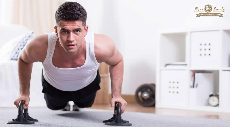 rutina de ejercicios para hombres para bajar de peso en casa