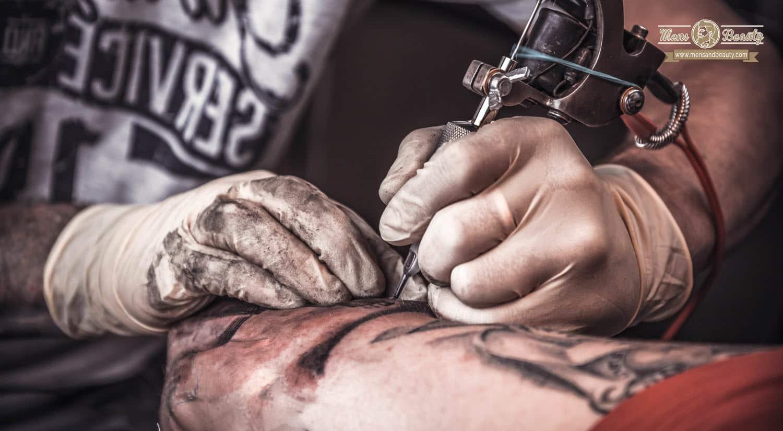 como hacer tatuaje hombre