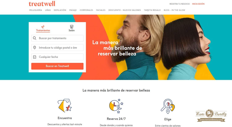 mejores paginas apps reserva online centro belleza tratamientos treatwell