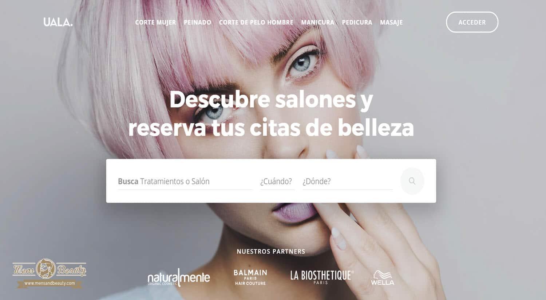 mejores paginas apps reserva online centro belleza tratamientos uala