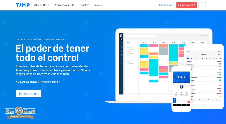 mejores software gestion reservas centros belleza salud timp