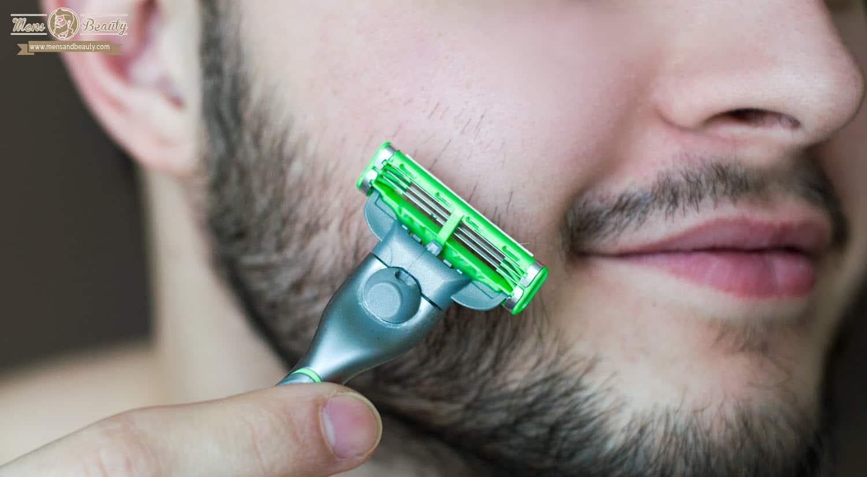 como recortar barba afeita vello sobra mejilla