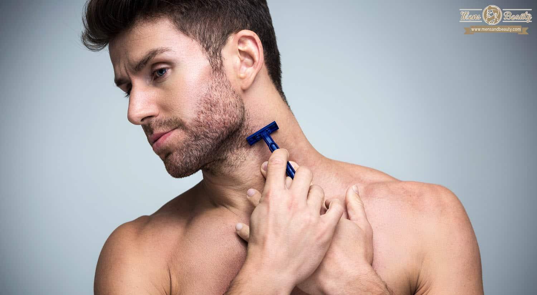 como recortar barba afeita zona cuello bajo orejas