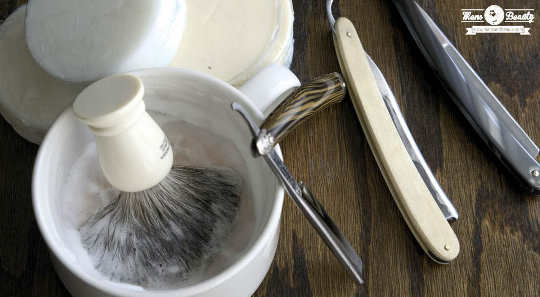 como recortar barba cuchilla navaja
