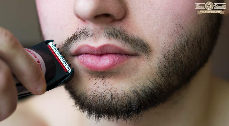 como recortar barba recorta zona bigote perilla