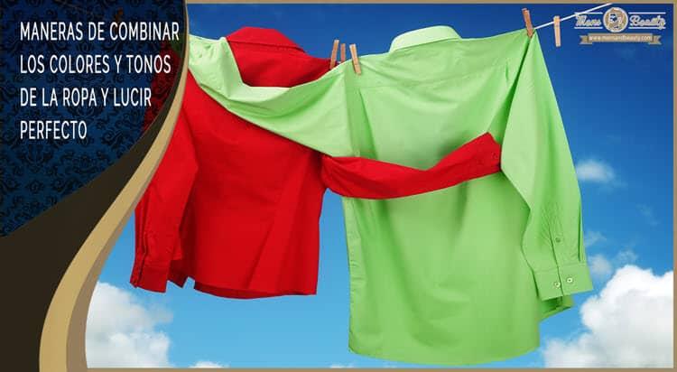 como combinar colores ropa hombre