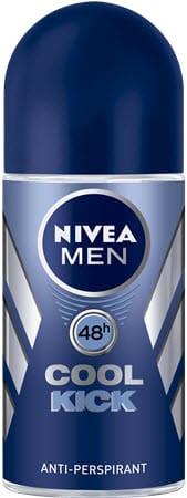 nivea men desodorante cool kick rollon