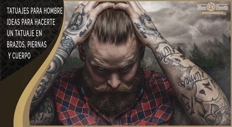 mejores ideas fotos tatuajes para hombres brazos piernas cuerpo
