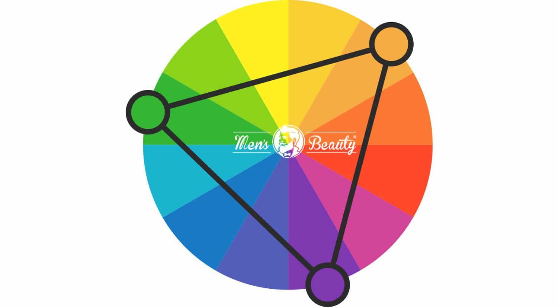 como combinar colores ropa complementos calzado hombre combinacion colores segun relacion triada