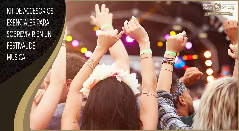 kit accesorios festival musica primavera verano